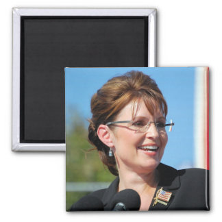 Sarah Palin 2 Inch Square Magnet