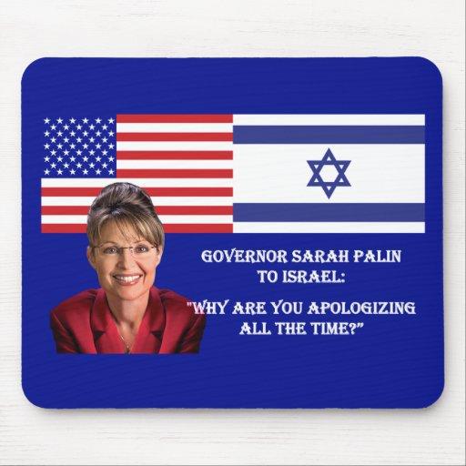 Sarah Palin a Israel Tapete De Raton