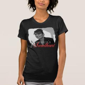 Sarah Palin America's Sweetheart Tee Shirts
