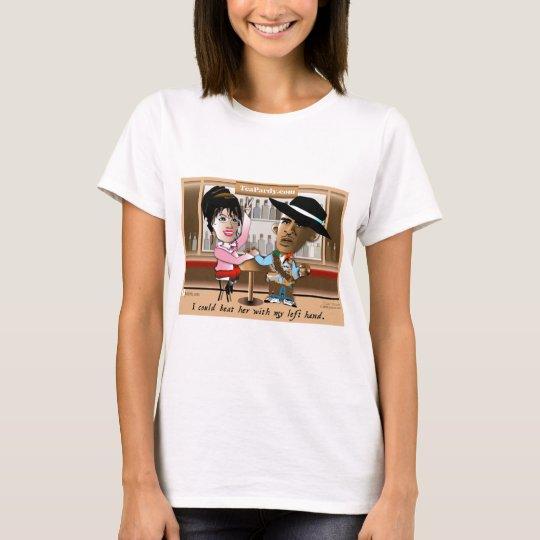 Sarah Palin and Obama Mano a Mano T-Shirt