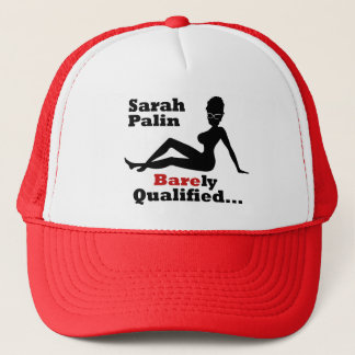 Sarah Palin Barely Qualified Trucker Hat