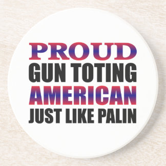 Sarah Palin Beverage Coasters