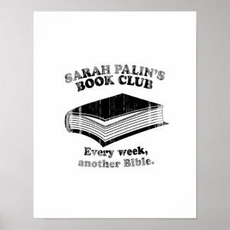 Sarah Palin Book Club Faded.png Posters
