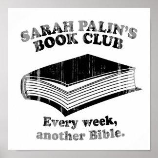 Sarah Palin Book Club Faded.png Poster