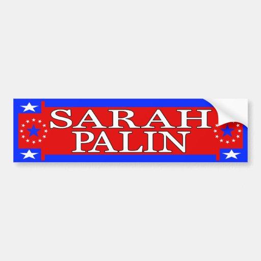 Sarah Palin Bumper Stickers