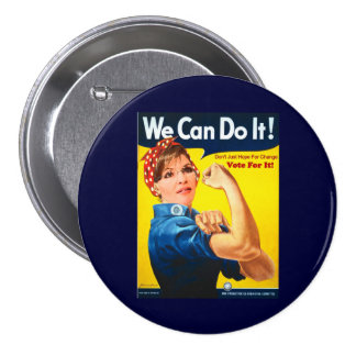 Sarah Palin Button
