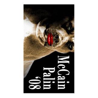Sarah Palin Campaign Call Cards Business Cards