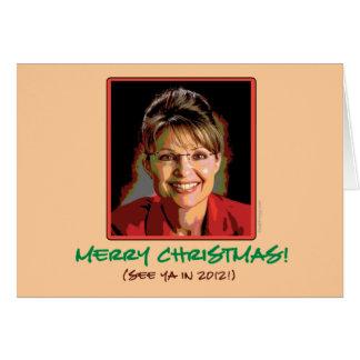 Sarah Palin Christmas Card