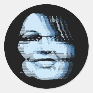 Sarah Palin Classic Round Sticker