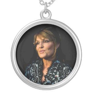 Sarah Palin Colgante Redondo
