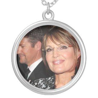 Sarah Palin Collage Necklaces necklace
