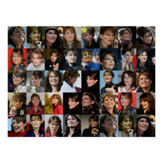 Sarah Palin Collage Posters