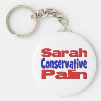 Sarah Palin  Conservative Keychain