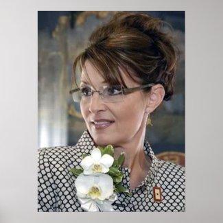 Sarah Palin Corsage print