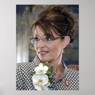 Sarah Palin Corsage Poster
