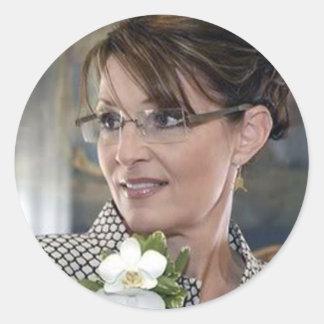 Sarah Palin Corsage Stickers