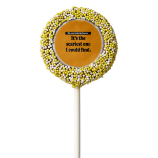 SARAH PALIN COSTUME - Halloween -.png Chocolate Dipped Oreo Pop