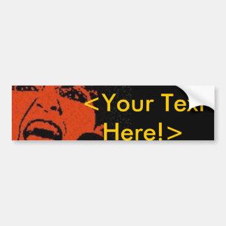 Sarah Palin Customizable <Your Text Here!> Car Bumper Sticker