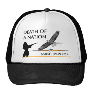 Sarah Palin - Death of a Nation Trucker Hat
