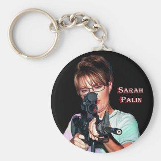 Sarah Palin - Defending America Keychain