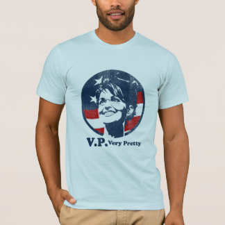 Sarah Palin distressed V.P. very pretty t-shirt