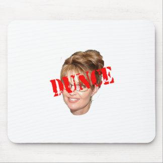Sarah Palin Dunce Mouse Pad