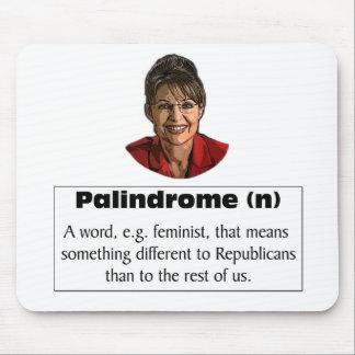 ¿Sarah Palin es una feminista Alfombrillas De Raton