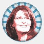 Sarah Palin Etiqueta Redonda