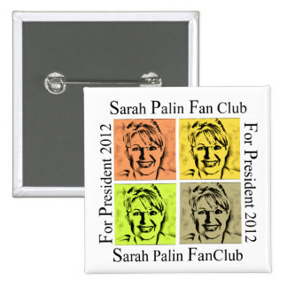 SARAH PALIN FAN BUTTON