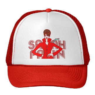 Sarah Palin Fashion Style Doodle Art Hat