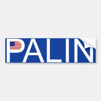 Sarah Palin - Flag Bumper Sticker Car Bumper Sticker