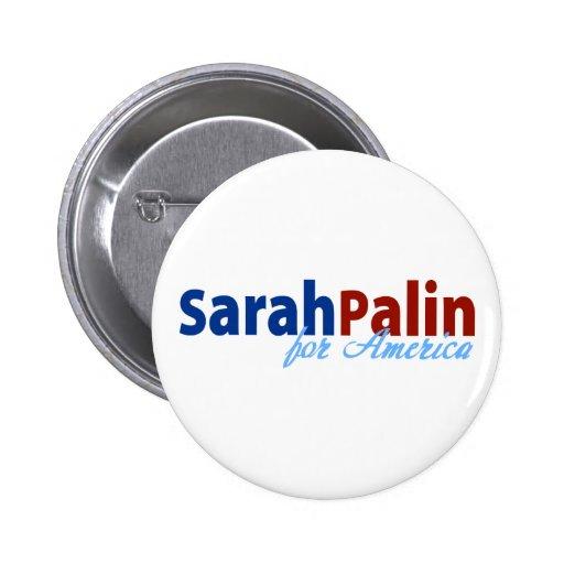Sarah Palin for America Pin