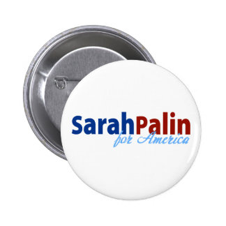 Sarah Palin for America Pinback Button