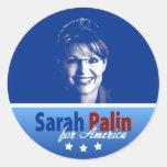Sarah Palin for America Sticker