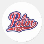 Sarah Palin for President 2012 Classic Round Sticker