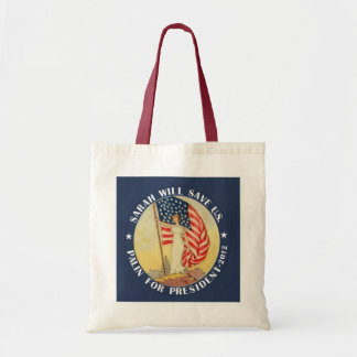 Sarah Palin for President 2012 Tote Bag