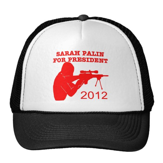 Sarah Palin For President 2012 Trucker Hat
