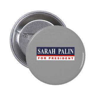 Sarah Palin for President Pin