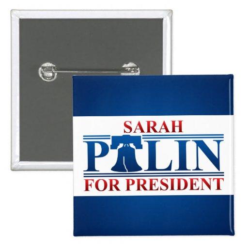 Sarah Palin for President Button