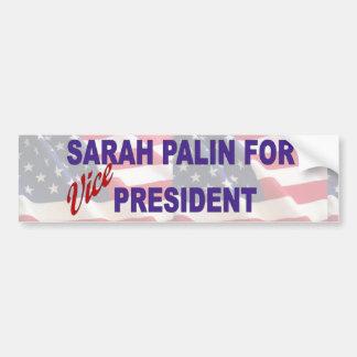 Sarah Palin for Vice President Bumper Sticker