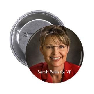 Sarah Palin for VP Button