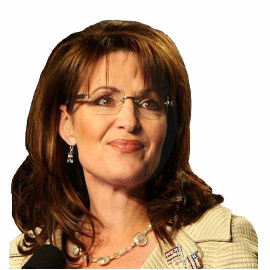 Sarah Palin Fotoescultura Vertical