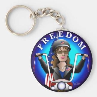 Sarah Palin Freedom Keychain