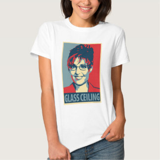 Sarah Palin - Glass Ceiling: OHP Ladies Top T Shirts