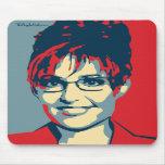 Sarah Palin - Glass Ceiling: OHP Mousepad
