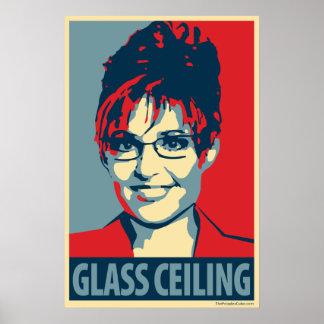 Sarah Palin - Glass Ceiling: OHP Poster