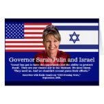 Sarah Palin habla sobre Israel Felicitacion