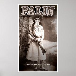 Sarah Palin, hay nuevo sheriff en ciudad Impresiones