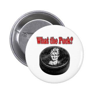 Sarah Palin Hockey Button