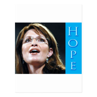 Sarah Palin Hope Postcard